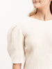 inga blouse - cream