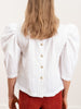 inga blouse - white