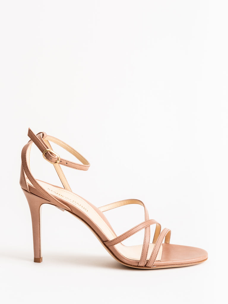 lillian 85mm heel - blush