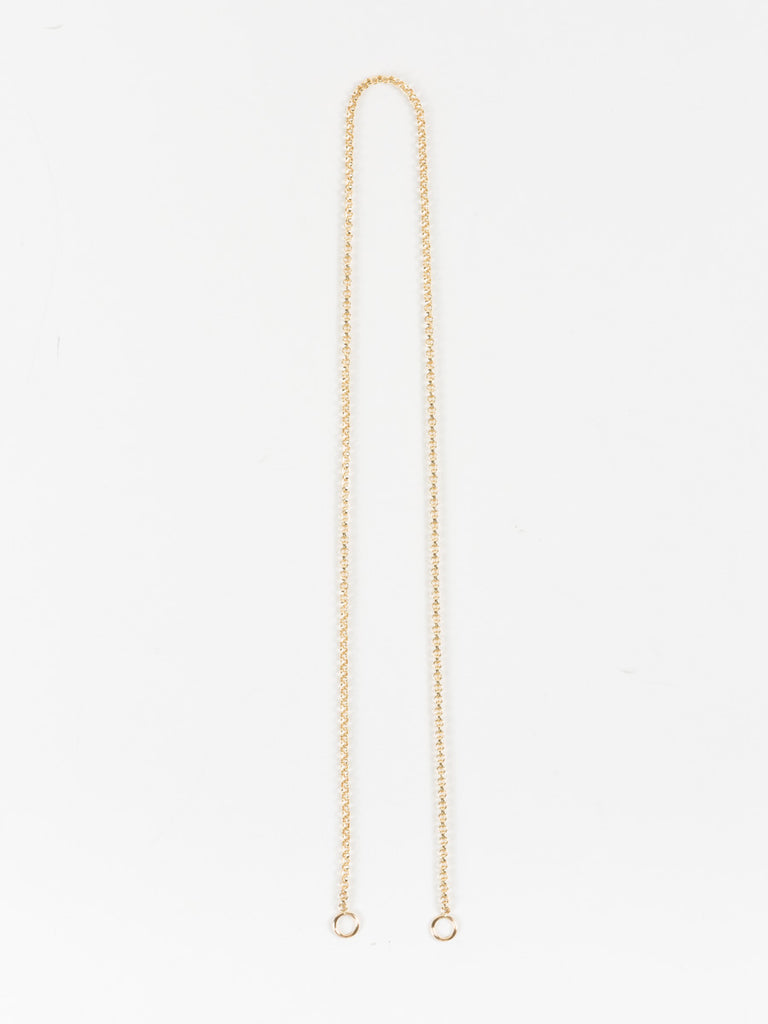 "Marla Aaron 18"" Yellow Gold Rolo Chain"