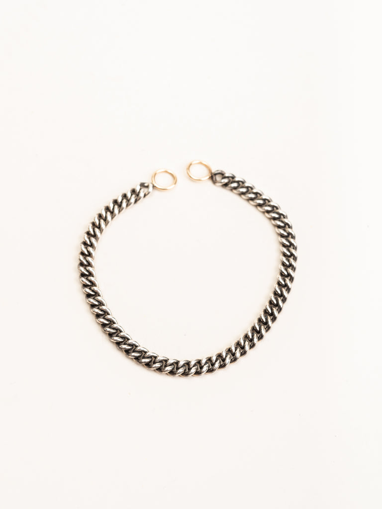 heavy curb bracelet