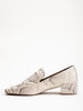tillie loafer - natural bone snake