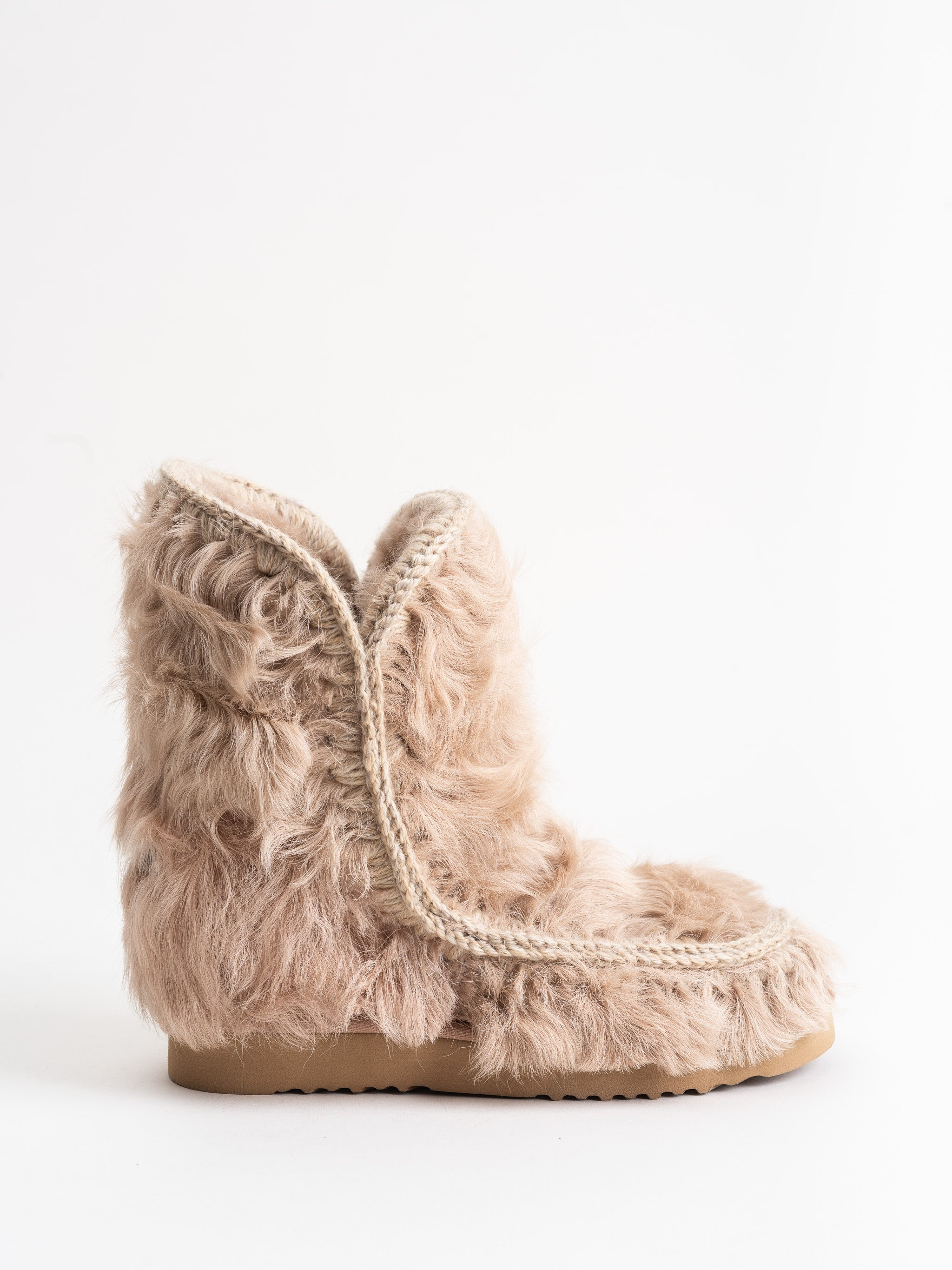 68c886b7428 short inner wedge boot - fur