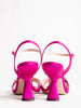 90mm monstera sandal - fuchsia