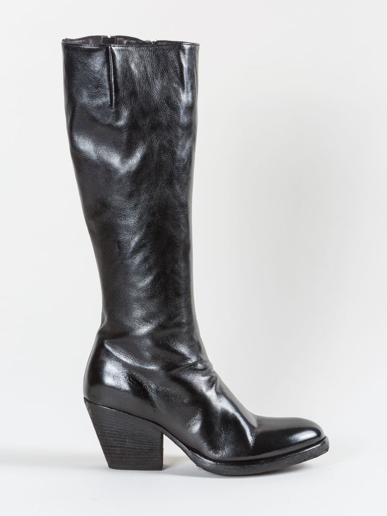 tall jacqueline boot - black