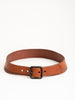 bi-stud belt - natural/ox