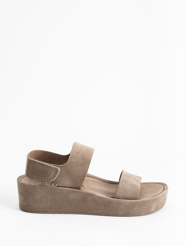 lacey platform wedge