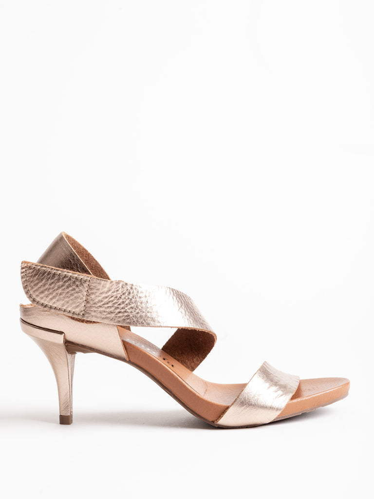 west heel - hazelnut cervo lame