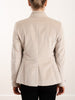 puddy velvor jacket - rose