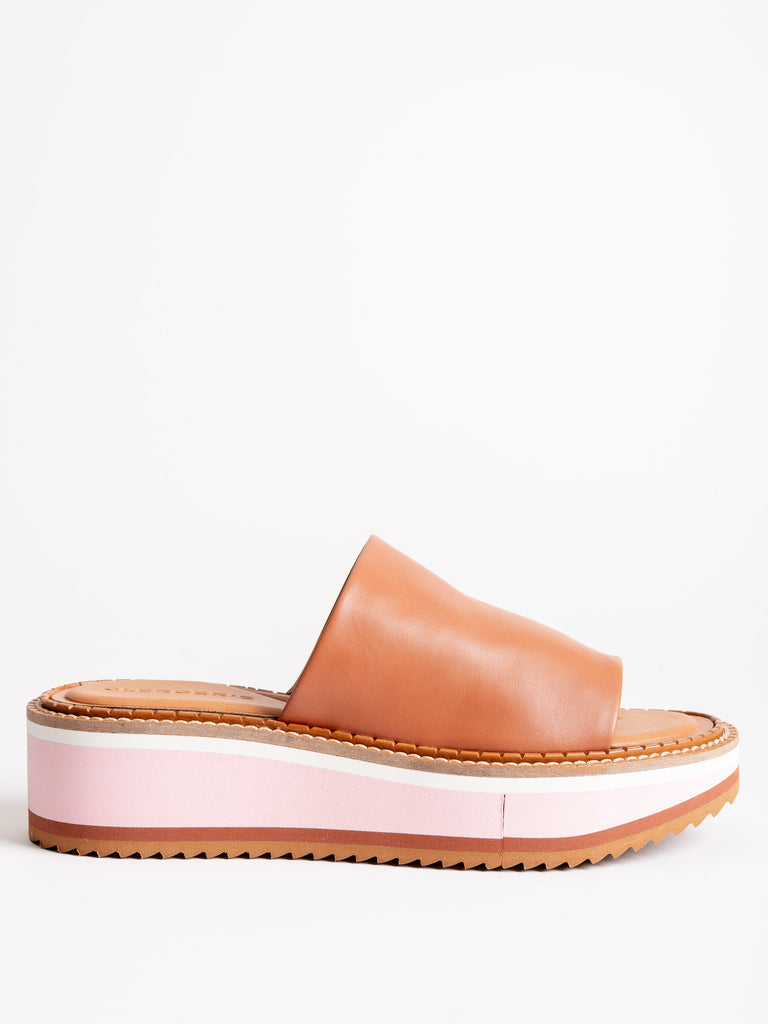 fast mules - camel/pink