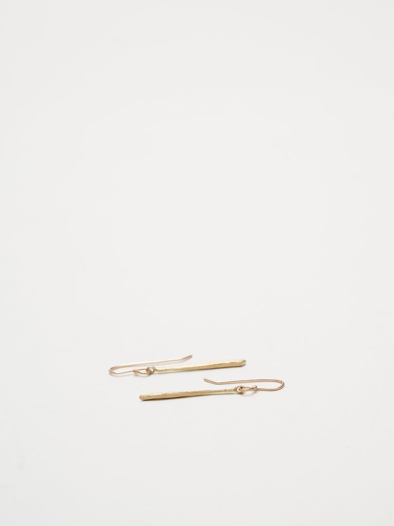 twig earrings - gold
