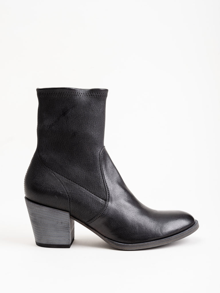 josee stretch leather boot