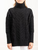 james turtleneck - charcoal