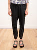 gabi trouser - black