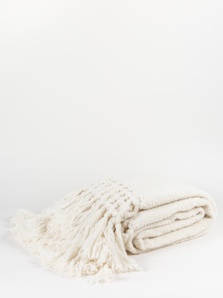 maya throw - cream