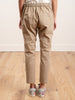 beige cotton pullup pant