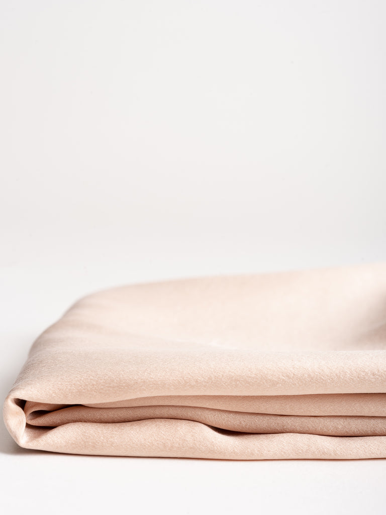 standard solid pillowcase - blush