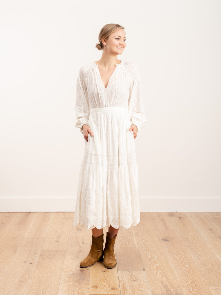 bettina dress - blanc