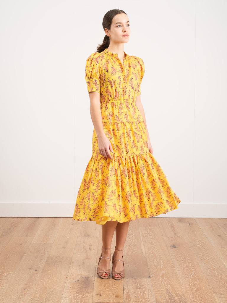 Ulla Johnson Corrine Dress Sunflower