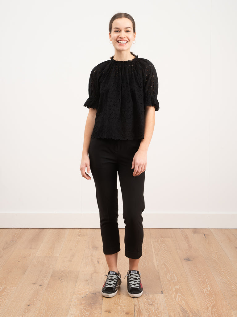 Ulla Johnson Fern Top Noir