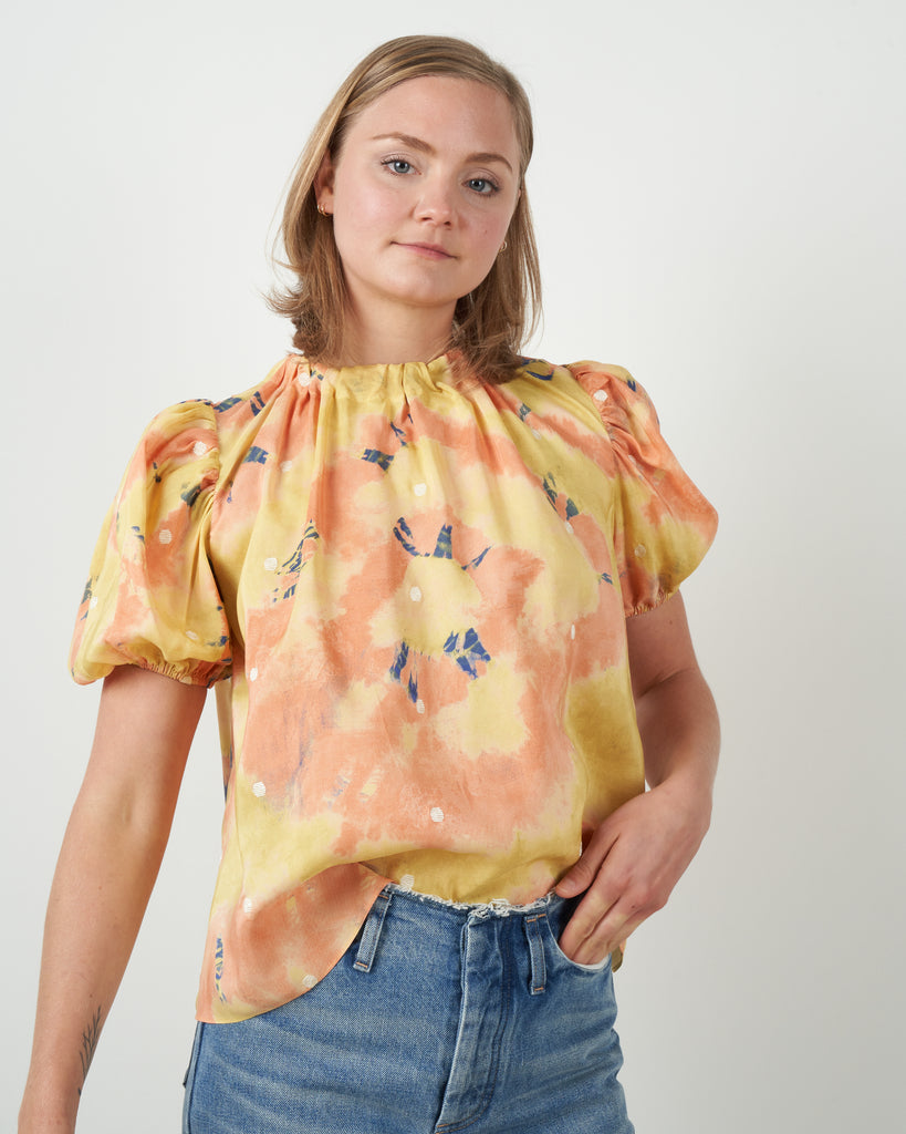 isolda top - citrine