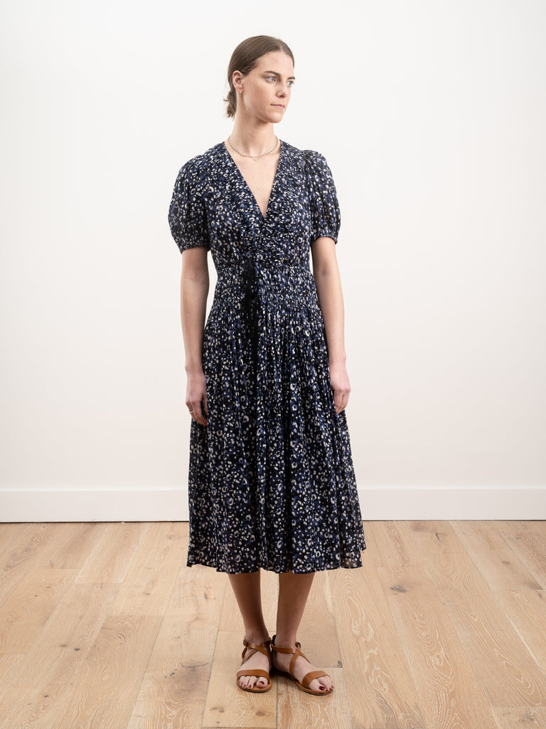 kemala dress - indigo