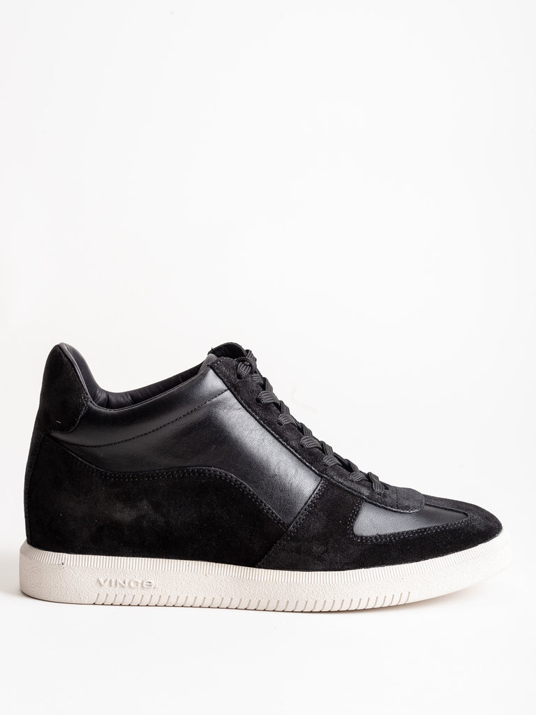 ina sneaker - black suede