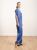 long issa dress - sky blue