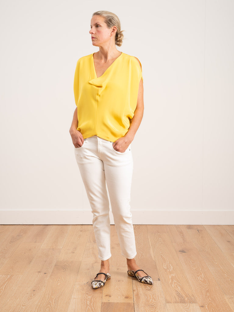 venus top - yellow