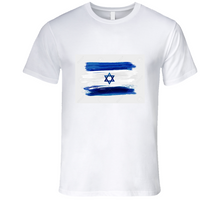 Load image into Gallery viewer, Israeli Flag T Shirt