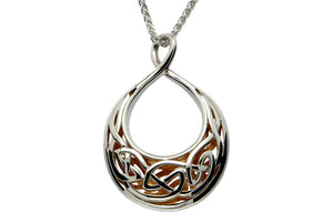 Crescent Window Sympathy Necklace