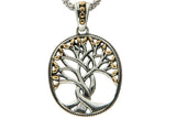 Silver and gold tree of life