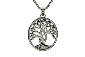 Silver Tree of Life Sympathy Necklace