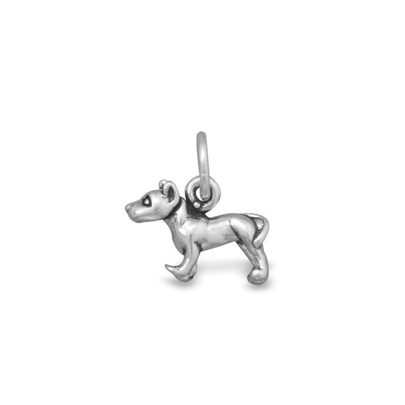 Sterling Silver American Staffordshire Terrier Charm