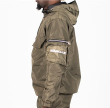 Load image into Gallery viewer, GC Cargo Windbreaker Jacket - Khaki