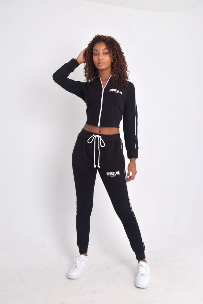GC WOMEN'S CROPPED ZIP UP TRACKSUIT - CLASSIC