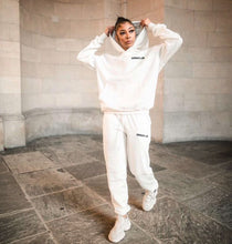 Load image into Gallery viewer, GC Oversized Unisex Hoodie - Ivory White