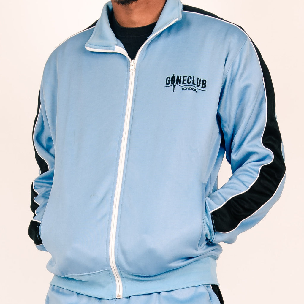 GC Zip-up Tracksuit Top - Blue