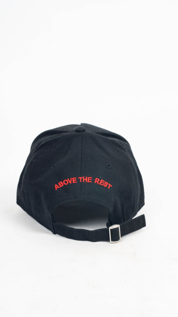 IM NOT A TRAPPER Panel Cap -Black/Red