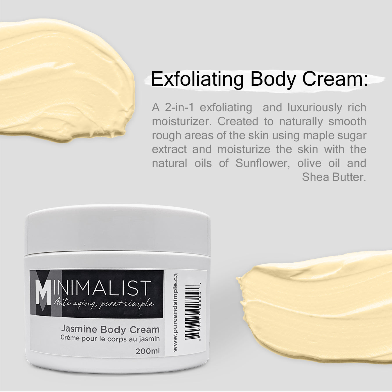 Exfoliating Body Cream
