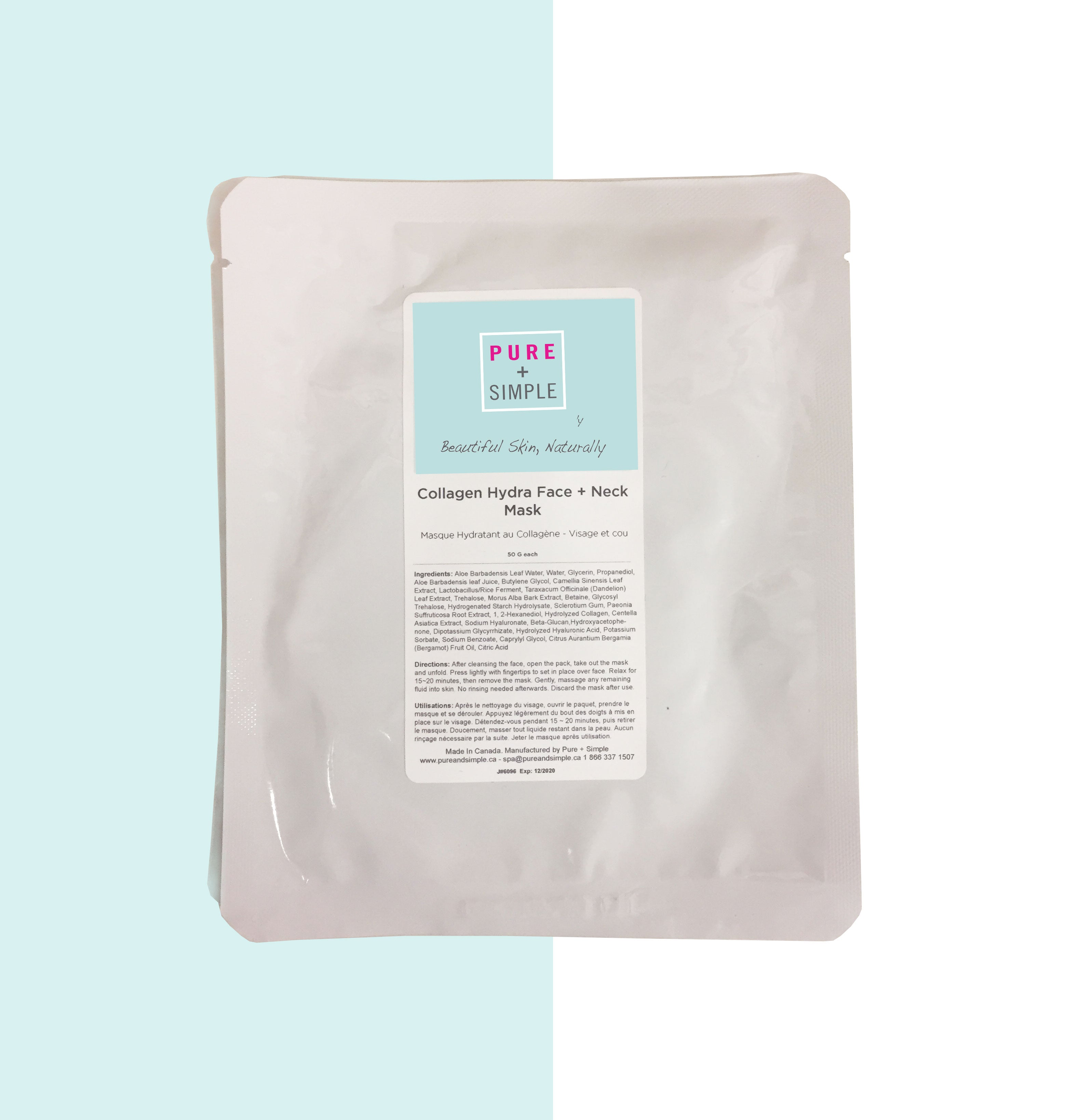 Collagen Hydra Face and Neck Mask