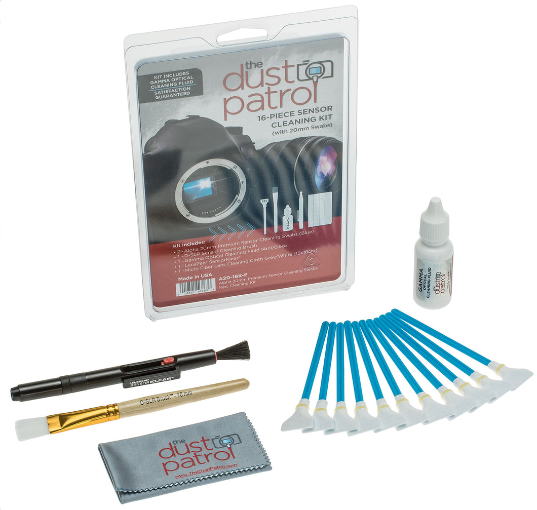 Alpha Premium Sensor Cleaning Swab Kits
