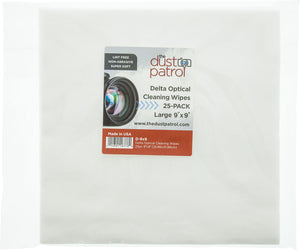 Delta Optical Cleaning Wipes