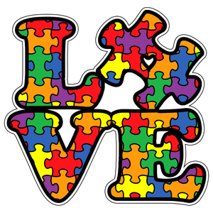 Autism Love Sticker