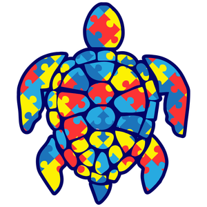 Autism Turtle Sticker