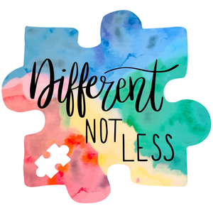 Different Not Less Sticker