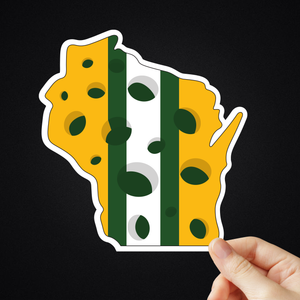 "5"" Wisconsin Sticker"
