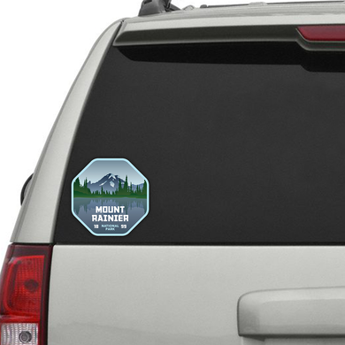Mount Rainier National Park Sticker (4 Sizes)