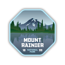 Load image into Gallery viewer, Mount Rainier National Park Sticker (4 Sizes)