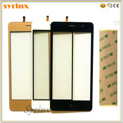 5 0 inch Touch Screen For Doogee X10 X 10 Touchscreen Digitizer Front Glass  Touch Panel Sensor 3m Tape Touchpad SYRINX